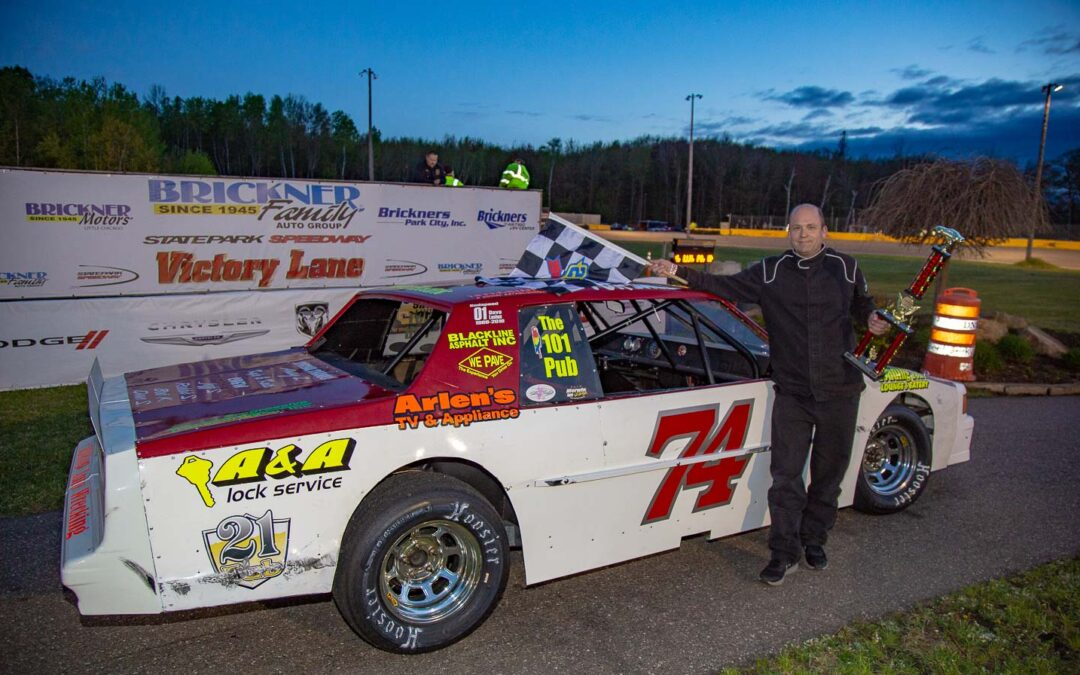 Cabelka, Strachota and Ferge take the Checkers on Night One