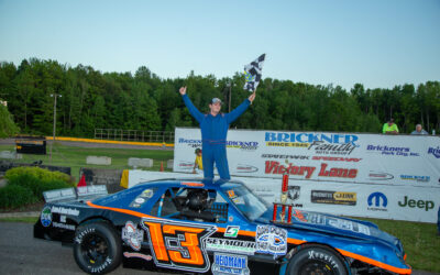 Volm, Ferge both accomplish firsts; Strachota repeats in mini-stocks