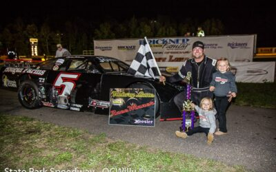 Defending Race Winner Johnson Brings Point Lead Into Detjens 125 Saturday at State Park