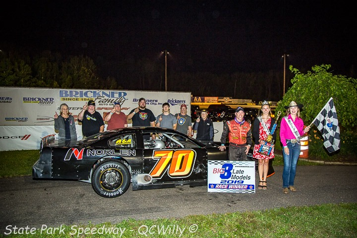 No. 70 wins No. 70 as Knoblock takes Detjens Big 8 feature