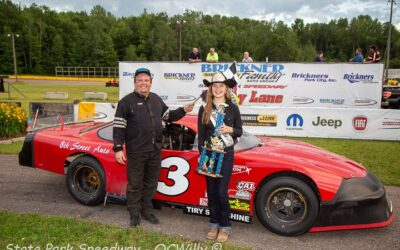 Weinfurter, Volm repeat as winners on second CWRA stop at State Park